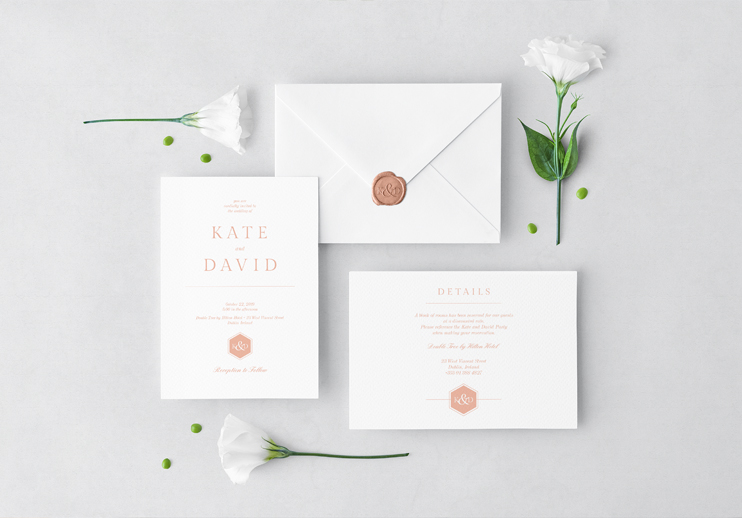 Weddings Blackbird Studios Luxury Affordable Wedding Stationary Dublin Clare Ireland